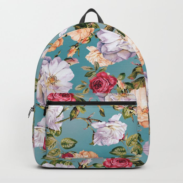 flowers pattern 2a Backpack