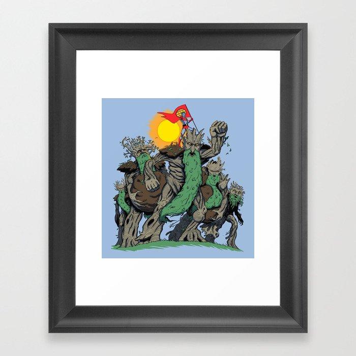 The Planetrees Framed Art Print