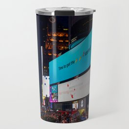 Iconic Time Square Travel Mug