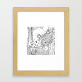TEA // TIME Framed Art Print