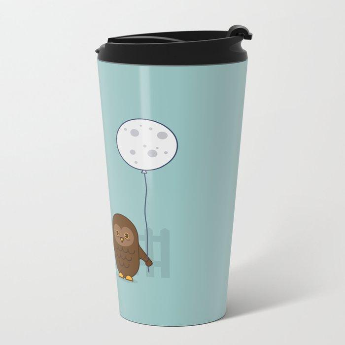 Early Bird & Night Owl Metal Travel Mug