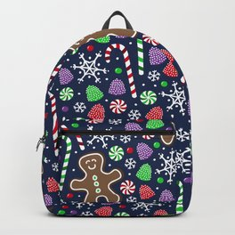 Jolly Gingerbread Backpack
