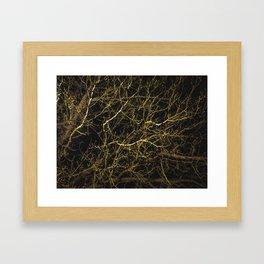 Cluttered Nite III Framed Art Print