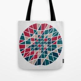 Pattern distortion. Tote Bag