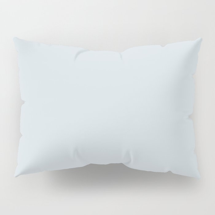 Solid pale ice gray for mix & match in our ice gray / white collection Pillow Sham