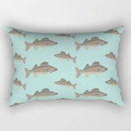 Fish Pattern Rectangular Pillow