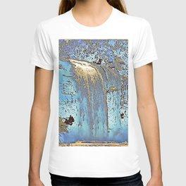 "series waterfall ""Cachoeira Grande"" III T-shirt"