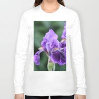iris Long Sleeve T-shirts featuring Iris by IowaShots