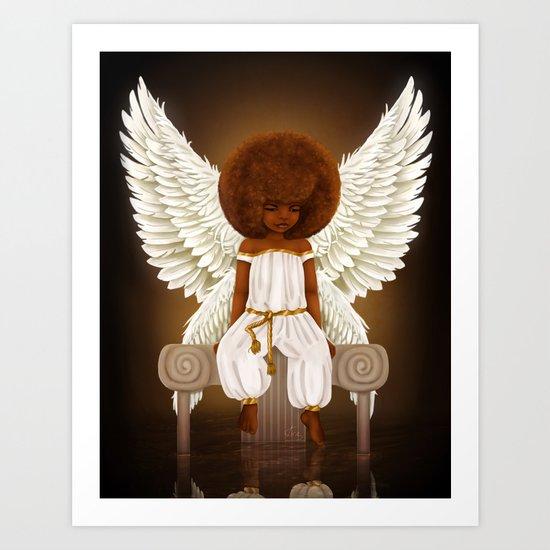 Lil' Angel Art Print