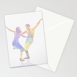 La la Land Typographic Screenplay Print Stationery Cards