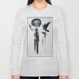 gothic kebaya Long Sleeve T-shirt