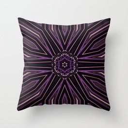 Pretty in Purple (2 of 3) Throw Pillow