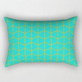 Turqoise Rectangular Pillow