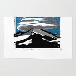 Lenticular Clouds. Rug