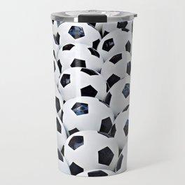 Soccer balls Travel Mug