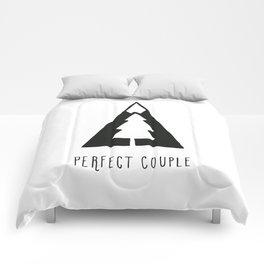 Perfect couple Comforters