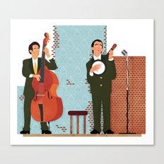 String Duo Canvas Print