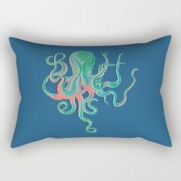 Octopus Fluo Rectangular Pillow