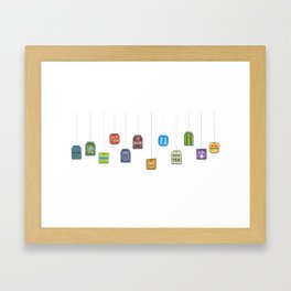 c[_] I love tea c[_] Framed Art Print