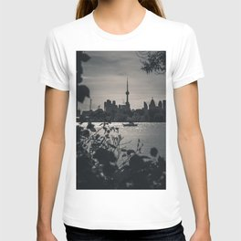 A View From The Water. Toronto CN Tower, Cityscape Photograph T-shirt