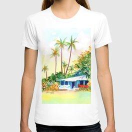 Hawaiian Vacation Cottage T-shirt