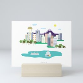 Seattle Mini Art Print