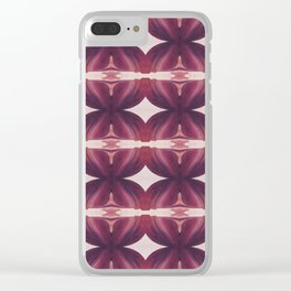 Tulip Alley Clear iPhone Case