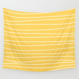 Sunshine Brush Lines Wall Tapestry