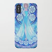 elsa iPhone & iPod Cases featuring Elsa by NicoleGrahamART