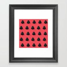 Kylo Ren Flat Design Mosaic Framed Art Print