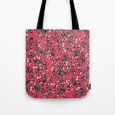Red Koi Tote Bag