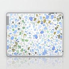 Magic Terrazzo Blue Laptop & iPad Skin