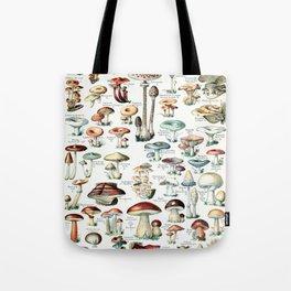 Adolphe Millot - Champignons pour tous - vintage poster Tote Bag