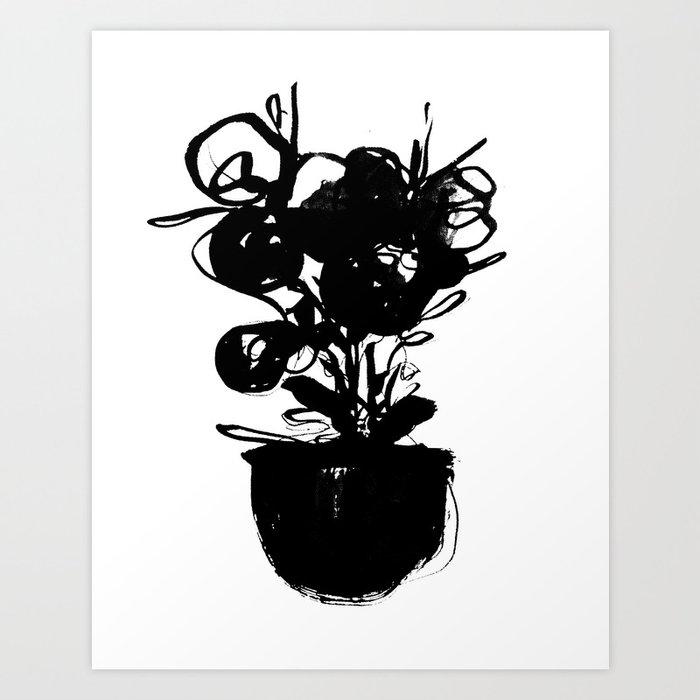 flower pot 001 Kunstdrucke