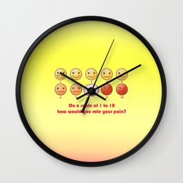 Are you Hurt? Wall Clock