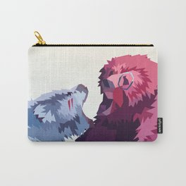 Bear Fight Carry-All Pouch