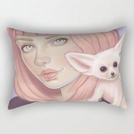 Faithful Familiar Rectangular Pillow