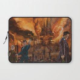 Saviour of Gallifrey Laptop Sleeve