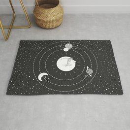 The Space Cat Rug