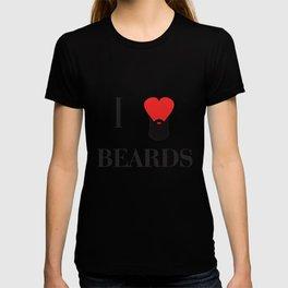 I heart Beards T-shirt