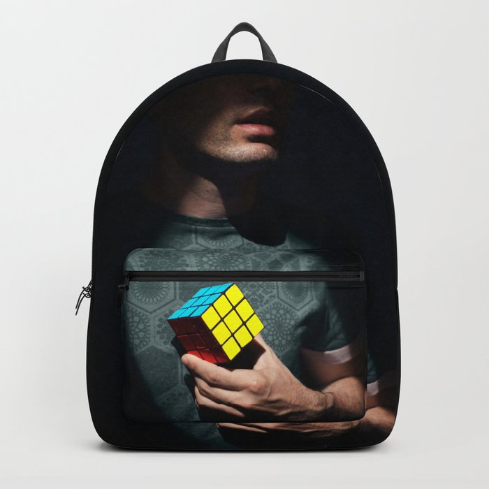 The distinguished gentleman with a cube heart Backpack