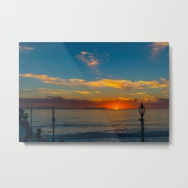 Sunset from Zero Metal Print