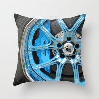 lamborghini Throw Pillows featuring Lamborghini by Captive Images Photography