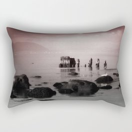 The Old Wreck Rectangular Pillow