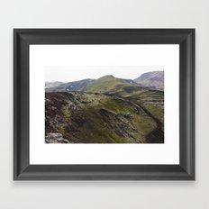 ICELAND V Framed Art Print