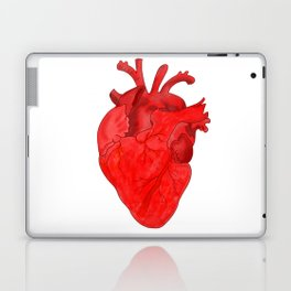 Passion red heart Laptop & iPad Skin