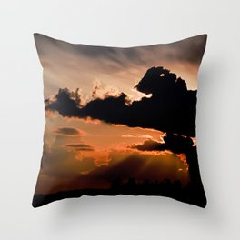 inspired by the world II Throw Pillow