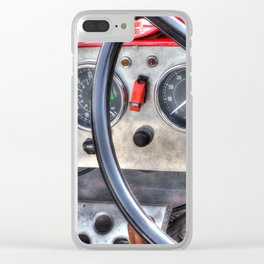 Steering & Dash Clear iPhone Case