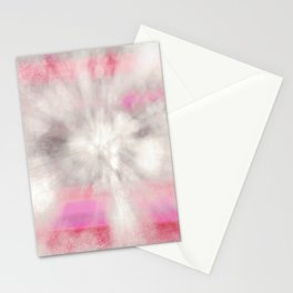 frosted cosmic Stationery Cards
