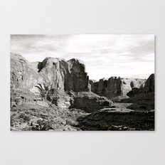 Amasa Back b/w Canvas Print